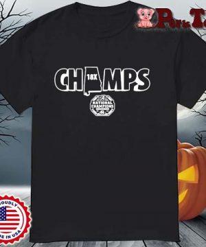 Alabama Crimson Tide Champs national Champions shirt