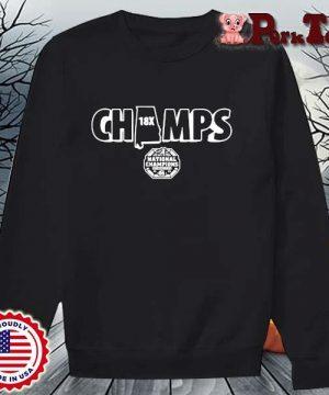 Alabama Crimson Tide Champs national Champions s Sweater Porktee den