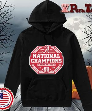 Alabama Crimson Tide national Champions 2020 s Hoodie Porktee den