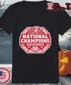Alabama Crimson Tide national Champions 2020 s Ladies Porktee den