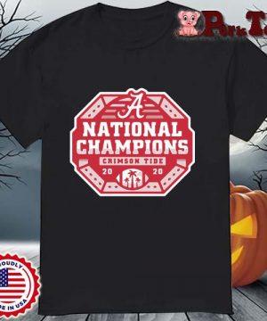 Alabama Crimson Tide national Champions 2020 shirt