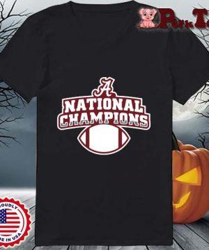 Alabama Crimson Tide national Champions t-s Ladies Porktee den