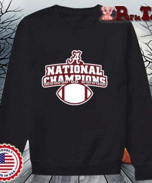 Alabama Crimson Tide national Champions t-s Sweater Porktee den