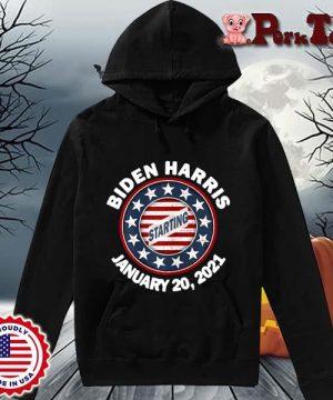 Biden Harris january 20 2021 starting s Hoodie Porktee den
