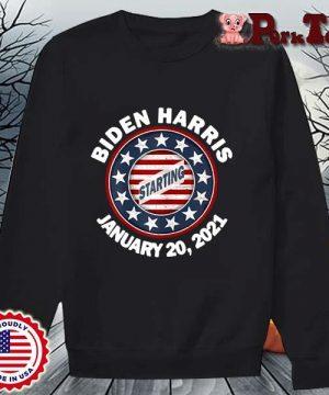 Biden Harris january 20 2021 starting s Sweater Porktee den