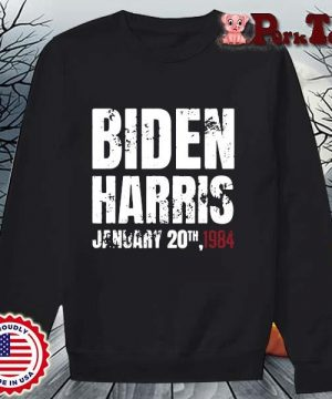 Biden Harris january 20th 1984 s Sweater Porktee den