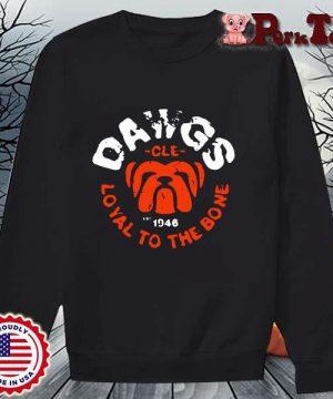 Bulldog dawgs cle 1948 loyal to the bone s Sweater Porktee den