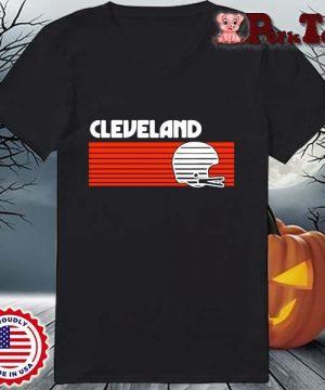 Cleveland Browns Vintage Retro Shirt Ladies Porktee den