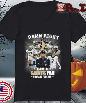 Damn right I am a New Orleans Saints fan now and forever s Ladies Porktee den