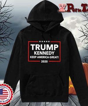 Funny Trump Kennedy Keep America Great 2020 Shirt Hoodie Porktee den