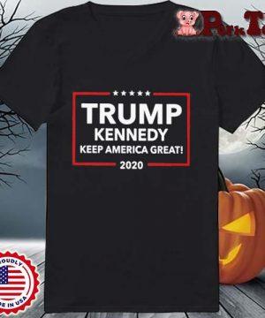 Funny Trump Kennedy Keep America Great 2020 Shirt Ladies Porktee den