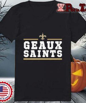 Geaux New Orleans Saints Shirt Ladies Porktee den